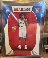 Tyrese Maxey 20-21 NBA Hoops Rookie Card!🔥🔥🔥 Panini RC Philadelphia 76ers