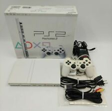 Sony PlayStation 2 PS2 Slim Ceramic White Console Variant NTSC-J JAPANESE BOXED