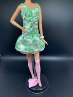 Barbie Doll Clothes Sanrio MY MELODY Model Muse Outfit Dress  Stockings Jewelry