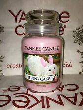Yankee Candle Large Jar Bunny Cake 22oz 623g
