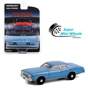 Greenlight 1:64 - Hollywood Series - Christine - 1977 Plymouth Fury (Blue)
