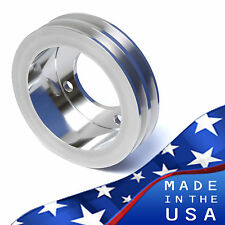 Small Block Ford Crankshaft Pulley 289 302 351W 2V Crank SBF Drivers Side Hose