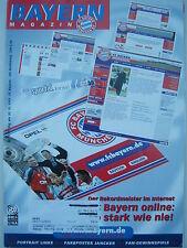 FC BAYERN MÜNCHEN Magazin Stadionzeitung Nr. 5 30.10.1999 VfL Wolfsburg