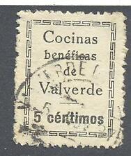 C.R VALVERDE DEL CAMINO ( HUELVA) 5 CTS CON ACENTO