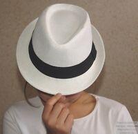 Chapeau Style Panama Enfant Garçon Pliable Maille Rigidifié