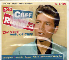 COFFRET 3 CD 'S CLIFF RICHARD AND THE SHADOWS VERY BEST OF 56T NEUF SCELLE