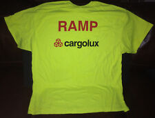 Cargolux Ramp 2X-LARGE T Shirt New Cargolux Air Cargo + Cargolux Sticker