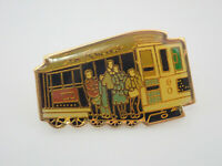 San Francisco Streetcar California Vintage Lapel Pin