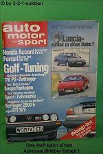 AMS Auto Motor Sport 23/85 * Ferrari 328 GTS Golf GTI 16V Brabus 190 E