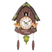 Adjustable Vintage European Style Birds Home House Decoration Cuckoo Clock