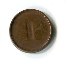 1 Pfennig Deutschland einseitige Prägung sehr selten M_325