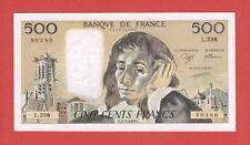 (Ref: L.298) 500 FRANCS PASCAL 2/03/1989 (NEUF) ETAT RARE