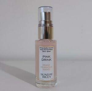Sunday Riley Pink Drink Firming Resurfacing Essence RRP £21 New 25ml Full Size