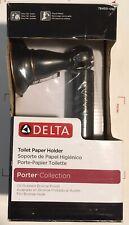 NEW SEALED DELTA PORTER TOILET PAPER HOLDER OIL RUBBED BRONZE 78450-OB1