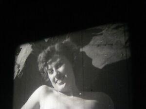 1950s Vintage 16mm film .. model ,  ....   # 715