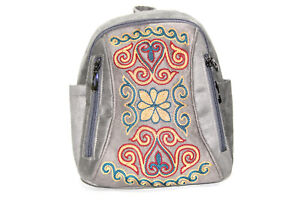 Kazakh Embroidered Backpack 2