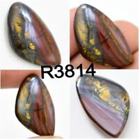 100 Carat Multi Colour Iron Tiger Cabochon 3-5pcs Designer Tiger/'s Eye Stone Smooth Polished Gemstone For Jewelry Wholesale Lot V81-2