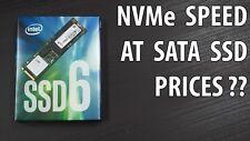 Intel 600p Series 128GB, M.2 2280, PCIe 3.0 x4, NVMe SSD, 3D Vertical Nand Flash