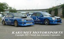 "KAKUMEI 4"" FIBERGLASS FRP HOOD SCOOP UPGRADE FOR 2002 2003 02 03 IMPREZA WRX STI"