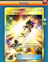 DIGITAL Electropower secret rare pokemon tcg online