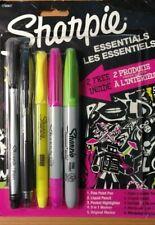 Sharpie Essentials Combination Marker, Pen, Highlighter Pack Assorted - 1790807