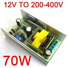 DC 12V 24V to DC 200-450V 220V 380V High Voltage Boost Converter Power Supply