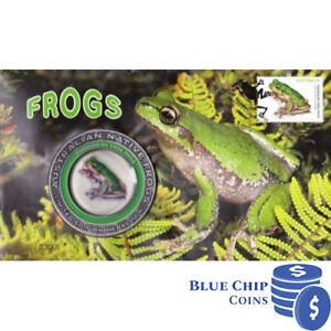 2018 Australian Native Frogs Tasman Tree Frog FDC Medallion Cover