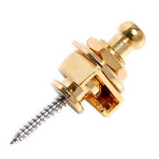 Golden Schaller style Strap lock Round Head Guitar Bass Strap Lock Non-Slip