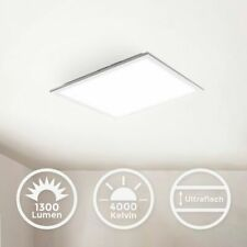 LED Ceiling Lamp Panel 12W Light Living Room Hallway Indirect 29cm White