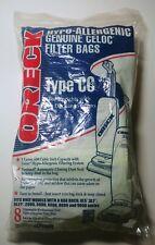 NEW Oreck CCPK8DW Type CC Celoc Upright Vacuum Bags, 8 Pack