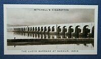 LLOYD BARRAGE   SUKKUR  PAKISTAN    Vintage Photo Card