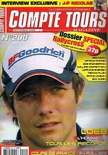 Compte Tours Magazine   N°200   Sep 2006 : Dossier special rallycross