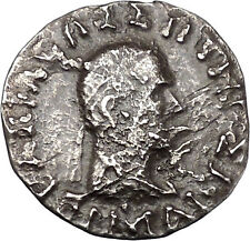 Hermaios 105Bc Indo Greek Baktrian Tetradrachm India Mithra Silver Coin i45076