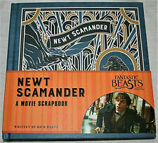 Fantastic Beast Newt Scamander Movie Scrapbook Book NOS New