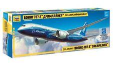 "Zvezda 7008 Civil Airliner Boeing 787-8 ""Dreamliner"" 1/144"