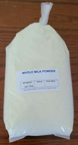1.5 lbs (24 oz) Powder Instant WHOLE Dry Cow Milk  MRE Shelf Stable Amish Packed