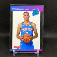 2019-20 Darius Bazley Panini Retro Rated Rookie Card RC 1989 Donruss Thunder SP