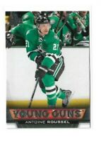 2013-14 UPPER DECK #490 ANTOINE ROUSSEL YG RC UD YOUNG GUNS ROOKIE