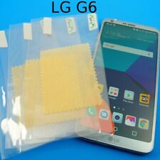 Clear PET Plastic Screen Protector Guard For LG G6 *SHIPS OUT FAST
