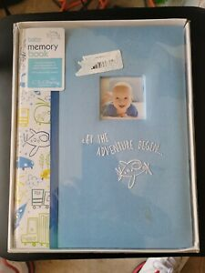 """C.R. Gibson""""Let The Adventure Begin""""  Memory Book for Newborns-age 5"""