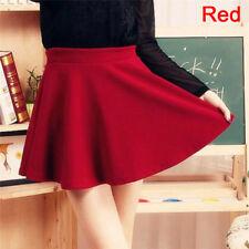 Women Fashion Skirts Mini Skirt Ladies Spring Summer High Waist Pleated Skirts