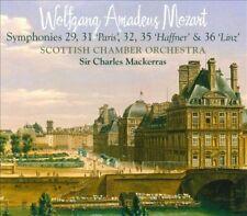 Mozart Symphonies 29, 31 (Paris), 32, 35 (Haffner) & 36 (Linz), New Music
