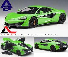 AUTOART 76042 1:18 McLAREN 570S (MANTIS GREEN/BLACK WHEELS) SUPERCAR