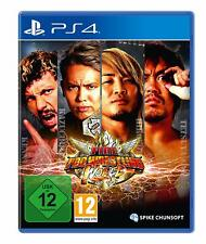 Ps4 Game Fire pro Wrestling World New