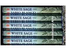 Hem White Sage Incense 20 Sticks x 5, 100 Incense Sticks Blessing Cleansing Home