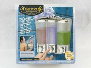 CLEAR CHOICE 3 Chamber Soap and Shower Dispenser Model 72344
