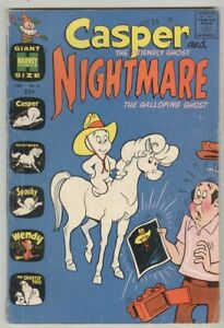 Casper the Friendly Ghost and Nightmare #31 January 1971 VG