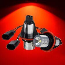 2x LED Rot Standlicht Angel Eyes Marker Licht 10W Für BMW 5er X5 E39 E53 E60 E65