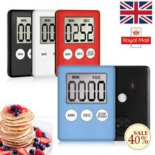 LCD Digital Kitchen Egg Cooking Timer Count Down Clock Alarm Stopwatch New