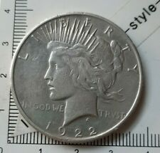 I22401 pièce de monnaie argent 1 dollar 1922 S Seattle USA